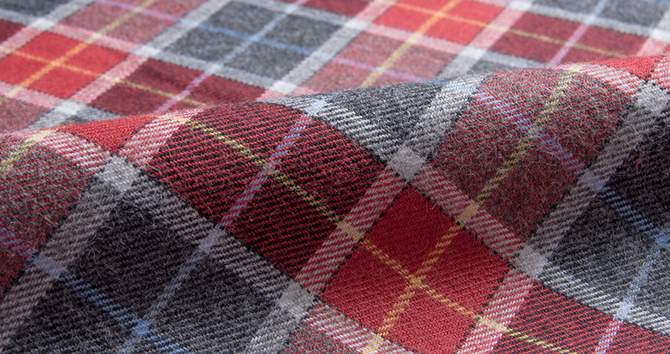 Flannel Dress Shirt Fabric