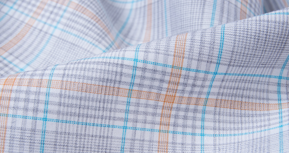 Melange Dress Shirt Fabric