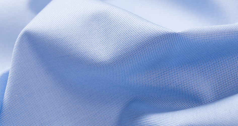 Light Blue Pinpoint Fabric