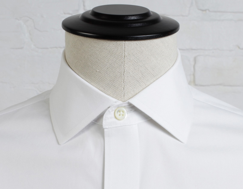 English spread collar proper cloth for What is a spread collar shirt