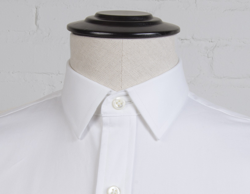 franklin semi spread collar by proper cloth
