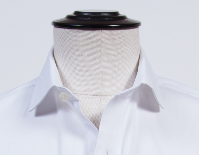 Franklin spread collar by proper cloth for Spread collar dress shirt without tie