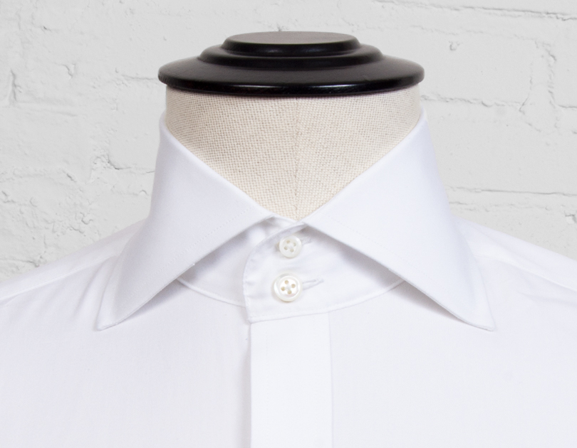 Milano collar by proper cloth for Wide spread collar shirt