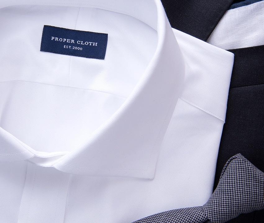Sea Island White Shirt
