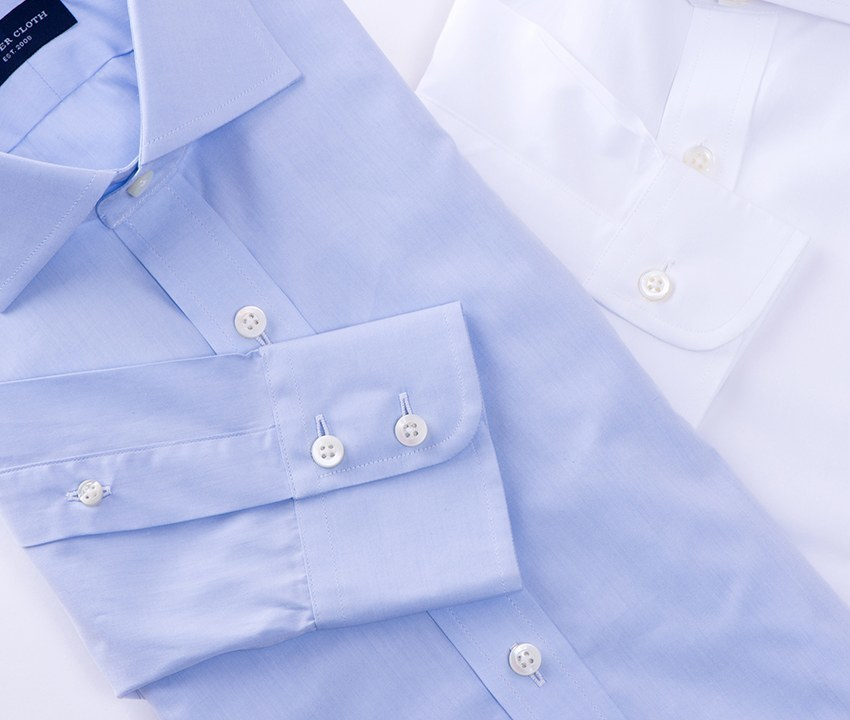 Sea island cotton shirts proper cloth for Proper cloth custom shirt price