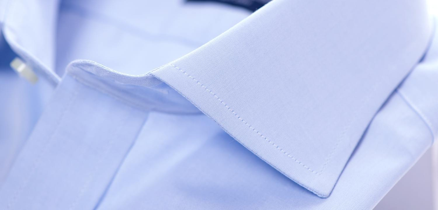 Sea Island Blue Cotton Shirt