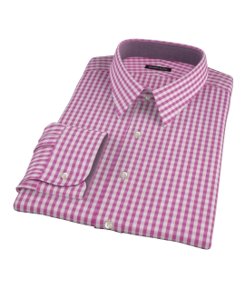 Viola Gingham Custom Made Shirt