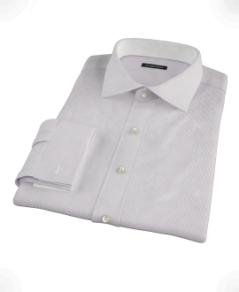 Japanese Lavender Mini Grid Tailor Made Shirt