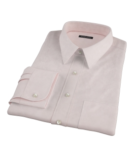 Bowery Light Orange Pinpoint Tailor Made Shirt