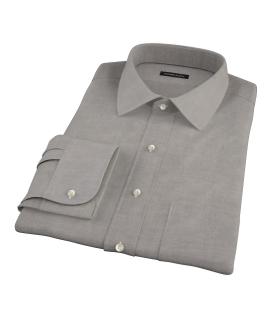 Charcoal 100s Oxford Custom Made Shirt