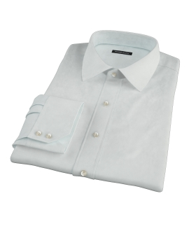 Bowery Mint Green Pinpoint Tailor Made Shirt
