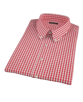 Union Red Gingham Short Sleeve Shirt