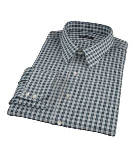 Sullivan Turquoise Plaid Dress Shirt