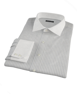 Japanese Light Blue Multi Stripe Tailor Made Shirt