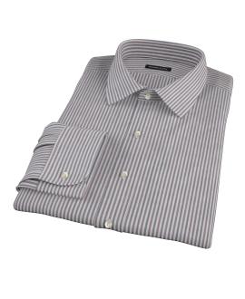 Navy and Red Pinstripe Custom Made Shirt