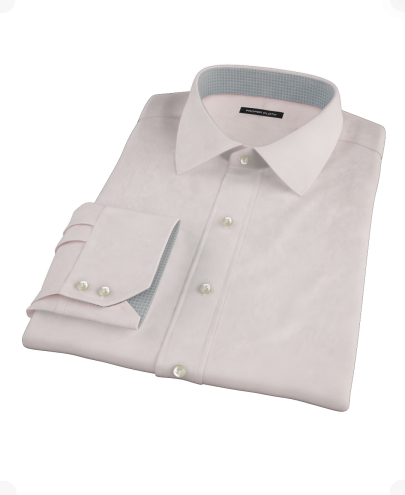 Light Pink 100s Broadcloth Men's Dress Shirt