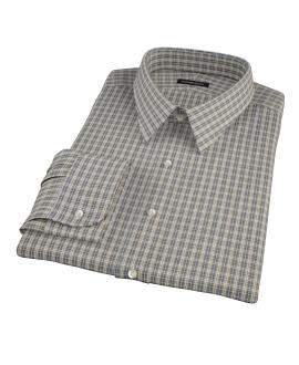 Honey Glazed Oxford Cloth Custom Made Shirt