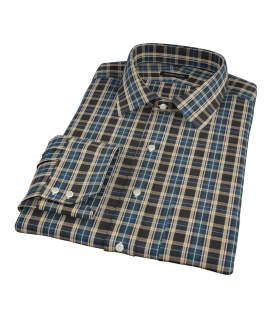 Whistler Green Plaid Dress Shirt