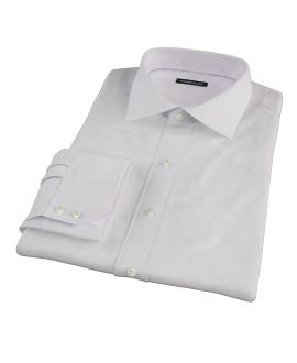 140s Pink Wrinkle Resistant Broadcloth Men's Dress Shirt