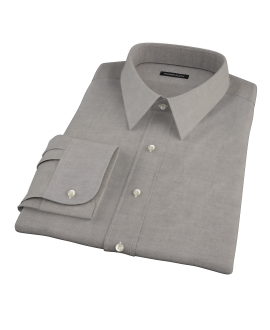 Charcoal 100s Oxford Custom Made Shirt