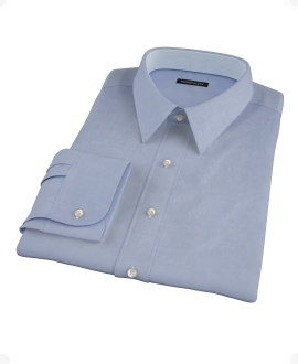 Blue Cavalry Twill Custom Made Shirt