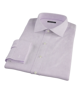 Purple Fine Stripe Dress Shirt