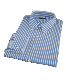 Blue Stripe Custom Dress Shirt