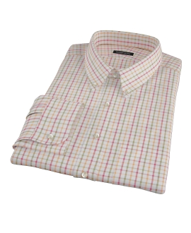 Colby Pumpkin Twill Men's Dress Shirt