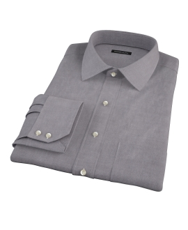 Charcoal Oxford Custom Dress Shirt