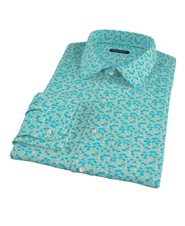 Boboli Flower Print Tailor Made Shirt