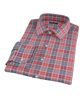 Rust Dock Street Flannel Custom Made Shirt