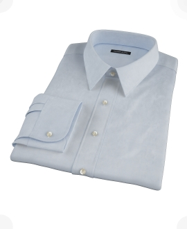 Light Blue Imperial Twill Custom Dress Shirt