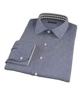 Navy Chambray Custom Dress Shirt