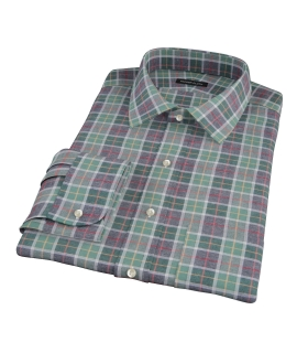 Green Dock Street Flannel Custom Made Shirt