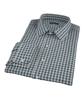 Sullivan Turquoise Plaid Tailor Made Shirt