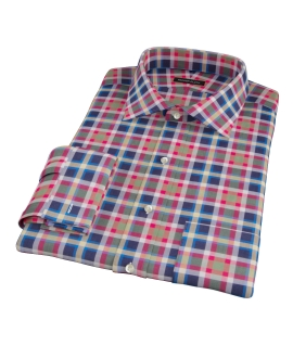 Block Party Fitted Dress Shirt