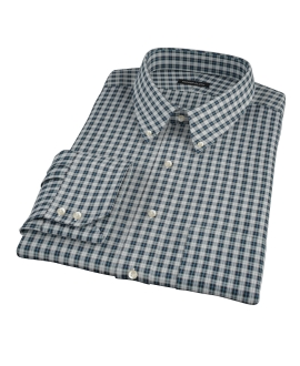 Sullivan Turquoise Plaid Fitted Shirt