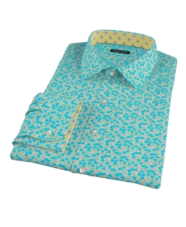 Boboli Flower Print Custom Made Shirt