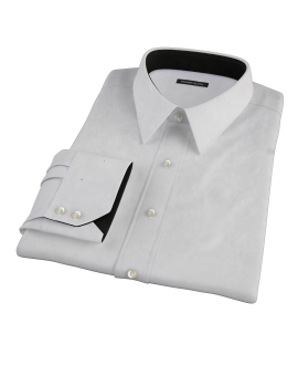 Bowery Light Gray Pinpoint Men's Dress Shirt