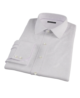 140s Pink Wrinkle Resistant Broadcloth Custom Made Shirt