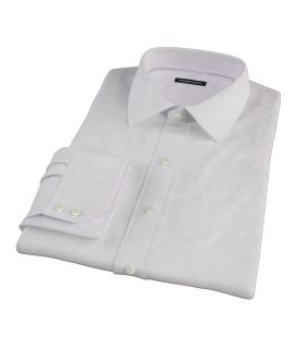 140s Pink Wrinkle Resistant Broadcloth Custom Dress Shirt