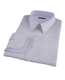 Albini Purple Superfine Stripe Tailor Made Shirt