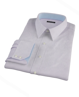 Thomas Mason Lavender Twill Men's Dress Shirt