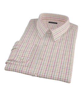 Colby Pumpkin Twill Fitted Shirt