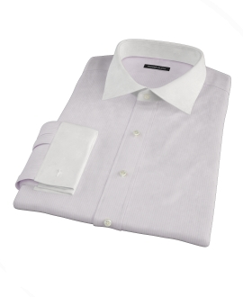 Canclini 140s Pink Stripe Tailor Made Shirt