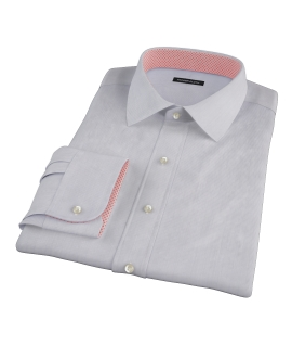 Albini Purple Fine Stripe Dress Shirt