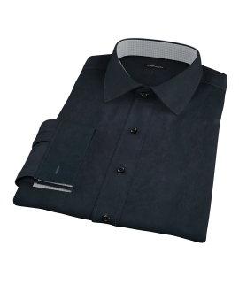 Navy Broadcloth Custom Dress Shirt