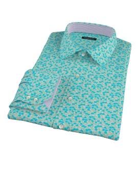 Canclini Flower Print Fitted Shirt