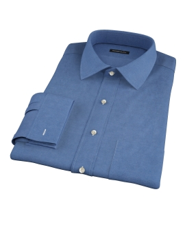 Wythe Steel Blue Oxford Tailor Made Shirt