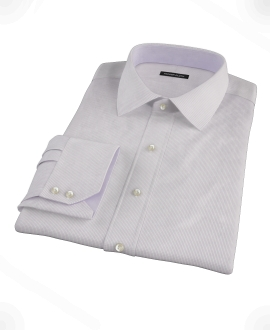 Japanese Lavender Mini Grid Custom Made Shirt
